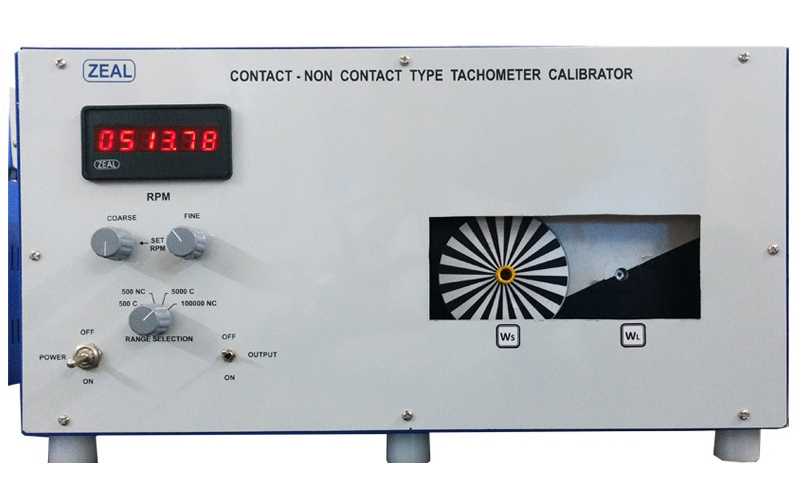Contact Non Contact Type Tachometer Calibrator