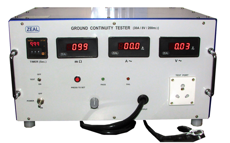 Ground Continuity Testers Earth Continuity Testers