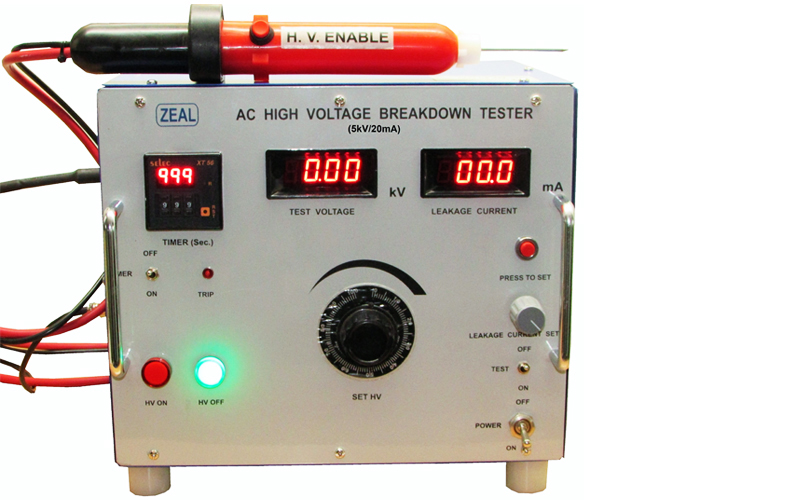 High Voltage Electrical Testers : High voltage breakdown testers