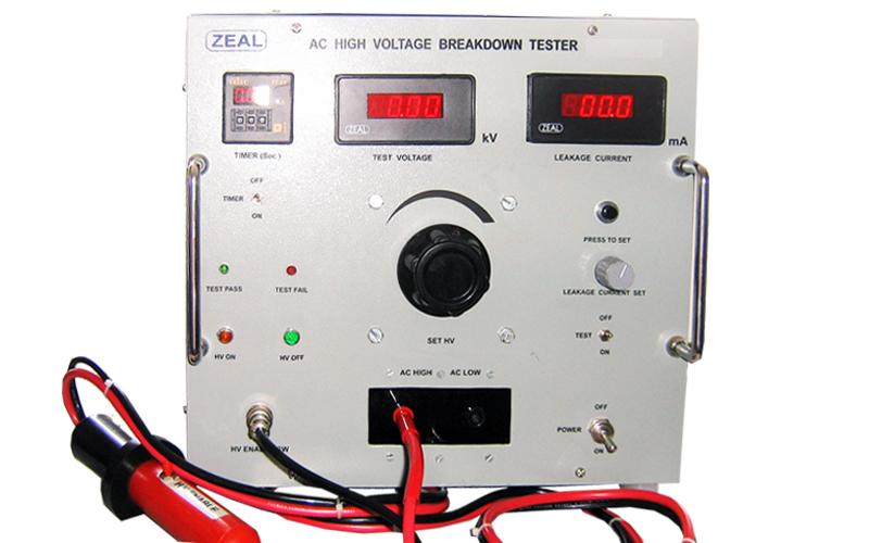 High Voltage Breakdown Testers High Voltage Breakdown