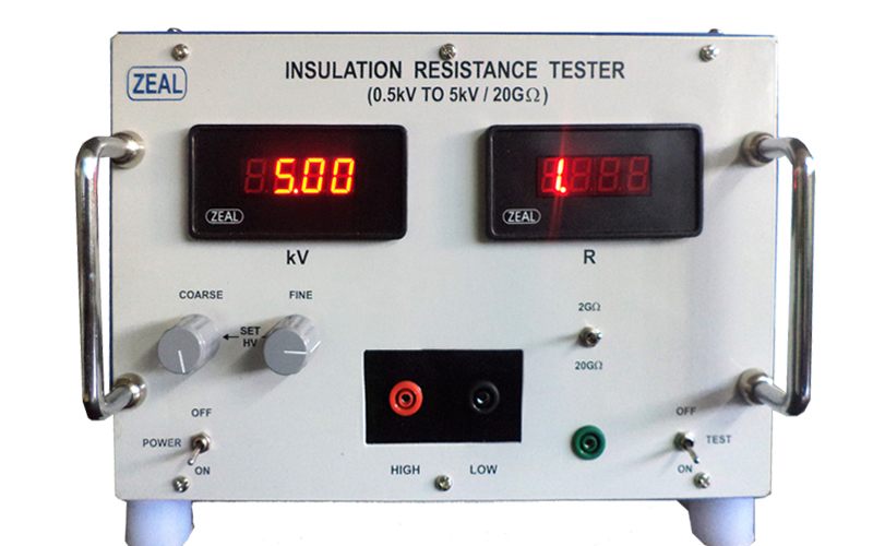 Insulation Resistance Tester ( Mains Operated )