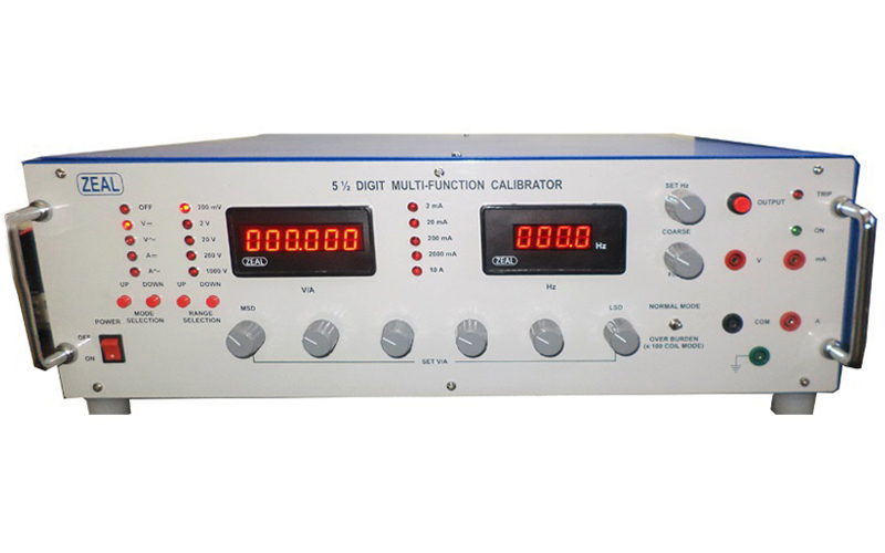Multi Function Calibrator / Voltage & Current Standards