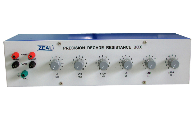 Precision Decade Resistance Boxes