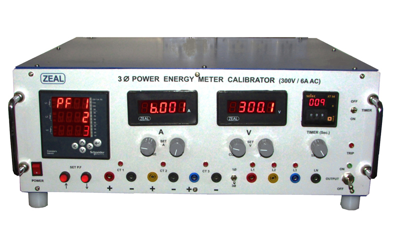 Three Phase Power / Energy Meter Calibrator