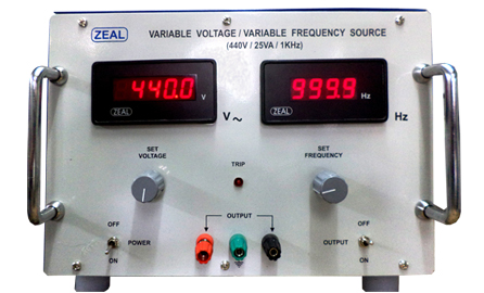 Variable Voltage / Current Source with Variable Frequency